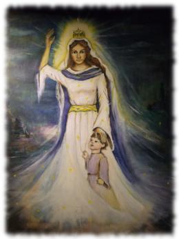 Obraz Matki Bożej Kapłańskiej